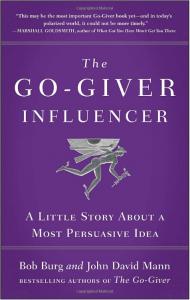 The Go Giver Influencer by Bob Burg & John David Mann