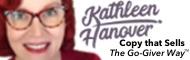 Copywriter Kathleen Hanover | Go-Giver Certified Speaker
