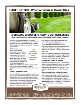 1-Page Lawncare Case History - Writing & Layout | Kathleen Hanover